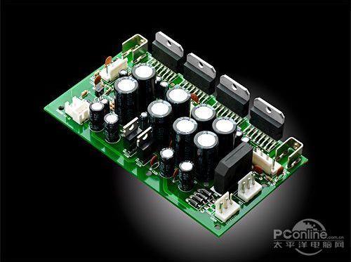 全新的功放电路配合新一代扬声器