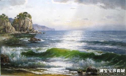 朝鲜经典油画 演绎不一样的大海风情